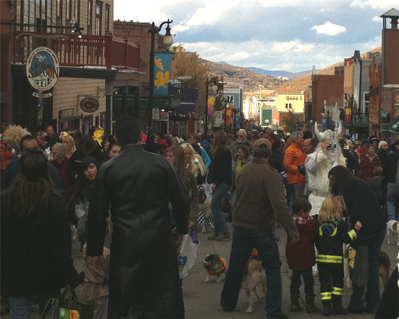 halloween in park city utah